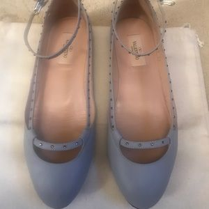 Authentic Valentino ballet flats- size 37 (7)